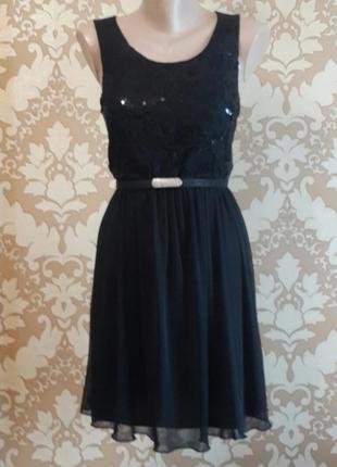 Коктельное нарядное платье.  nev look. размер 38