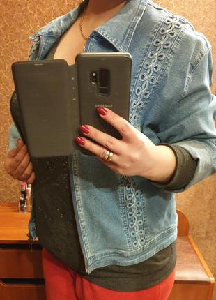 Джинсовая куртка размер 50-52