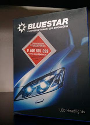 Автомобильные Лед лампы BLUESTAR BS LED H4 (5500K) Светодиодные