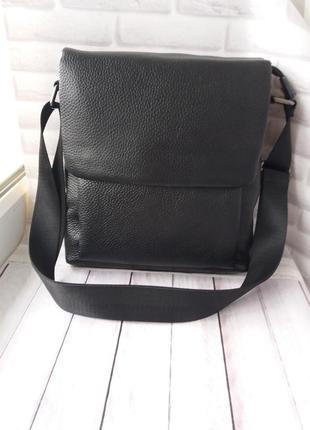 Кожаная мужская сумка шкіряна чоловіча