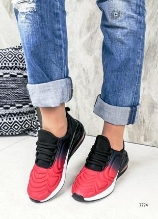 Новиночка черно-красные кроссы