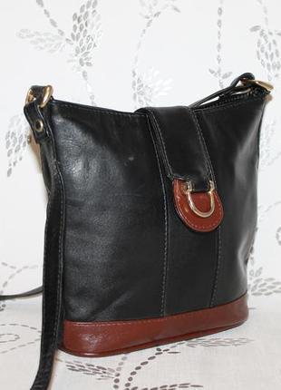Кожаная сумка через плечо/кроссбоди debenhams