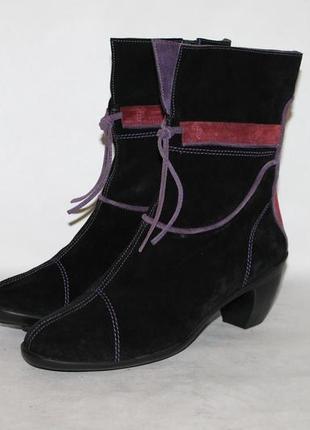 Стильные замшевые ботинки pataugas 40 размер