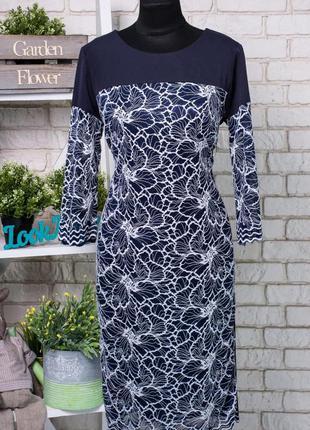 Изысканное и женственное платье из костюмной ткани 50 р