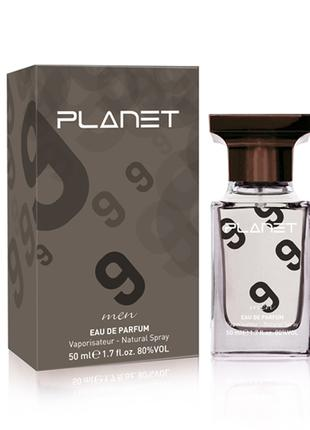 Парфюмерная вода Planet Grey №9, сравним с Burberry - Classic