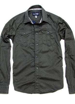 Рубашка armani jeans. размер s