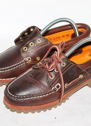 Timberland кожаные туфли/топсайдеры 36 размер