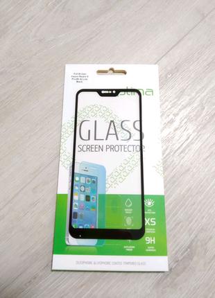 Xiaomi Mi A2 Lite защитное стекло полномерное с черной рамкой