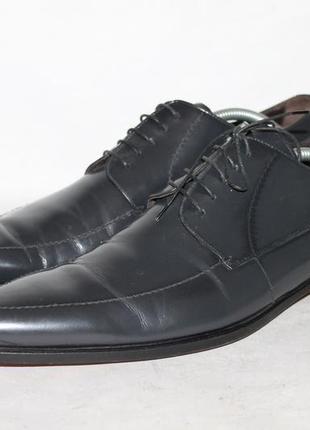 Оригинальные кожаные туфли dolce&gabbana 43,5/9,5 размер