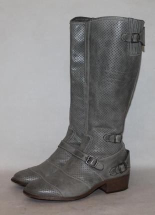 Фирменные кожаные сапоги belstaff оригинал 38 размер