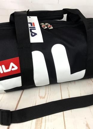 Небольшая красивая спортивная сумка бочонок fila. раз.44см на ...