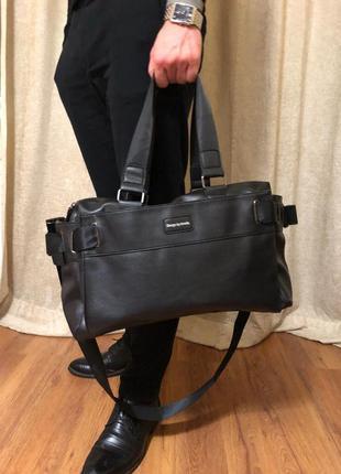Мужская сумка. городская сумка. дорожная сумка. сумка для спор...