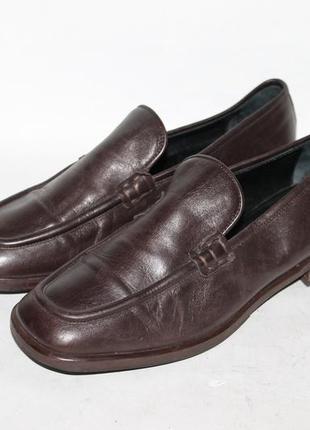 Кожаные туфли max marthe 38 размер