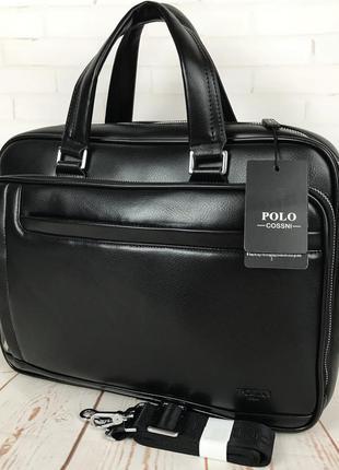 Мужская сумка-портфель  для документов формат а4 кс99