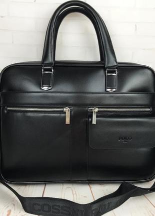 Мужская сумка-портфель  для документов формат а4 кс73