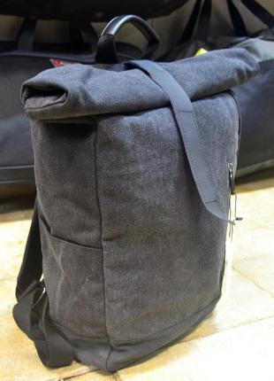 Рюкзак мужской роллтоп. дорожный, вместительный рюкзак. сумка-...