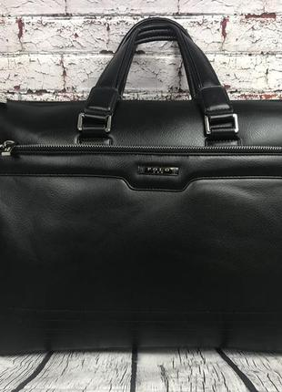 Мужская сумка-портфель polo под формат а4. сумка для документо...
