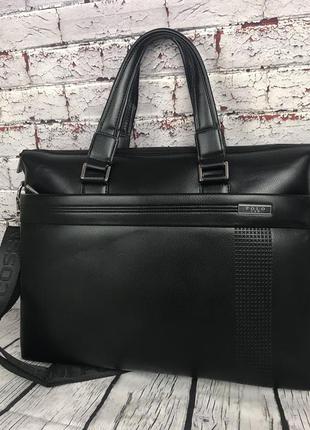 Стильная мужская сумка-портфель polo, портфель для документов ...