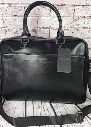 Мужская сумка-портфель для документов под формат а4. деловой п...