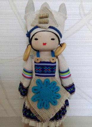Коллекционная кукла одежда мира