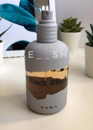 Zara  black духи парфюмерия туалетная вода