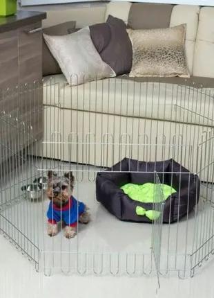 Клетка - манеж для собак 120х60х63h с дверкой Бесплатная доставка