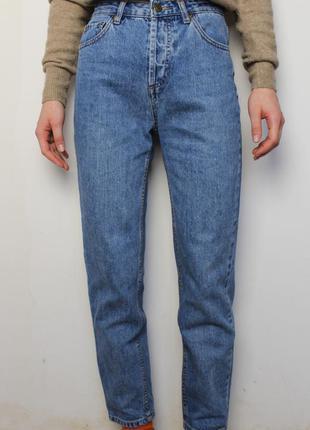Pull&bear mom джинсы с высокой посадкой