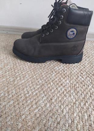 Кожаные демисезонные мужские ботинки 44 р тимберленд