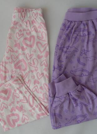 Пижама низ штаны набор 2 шт 2-3 года 98 см george англия