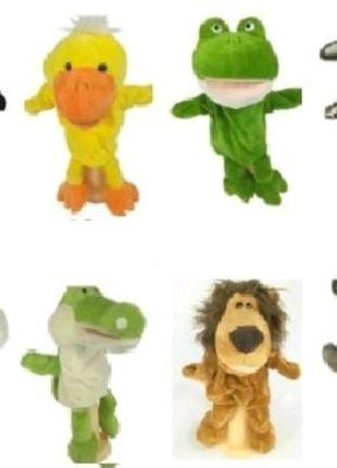 Игрушки-рукавички, кукольный театр, мягкие игрушки на руку