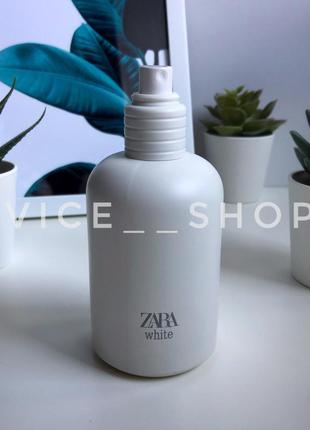Zara white духи парфюмерия туалетная вода