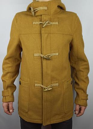Мужское пальто от бренда pull&bear