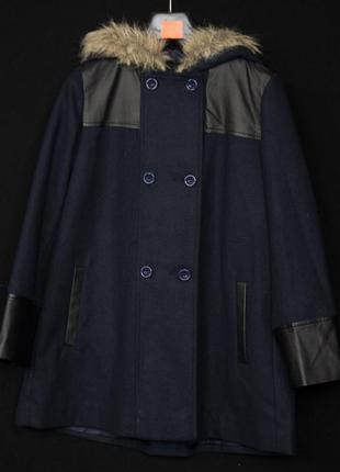 Шикарне кашемирове пальто для дівчинки 11-12 років