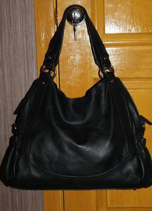 Vip огромная кожаная  сумка от dolce&gabbana оригинал натураль...