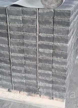 """Кирпич гиперпрессованный """"колотый луч"""""""