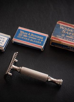 Бритвенный станок Wade & Butcher, Sheffield/USA, 1930-40гг