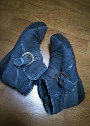 Ботинки geox 100%кожа