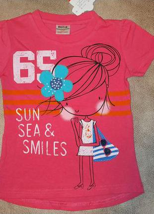 Футболка девочка на пляже tm nova
