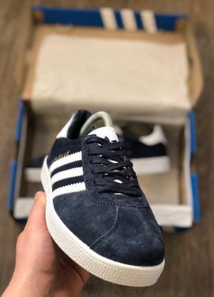 Мужские кроссовки adidas синий код 1830