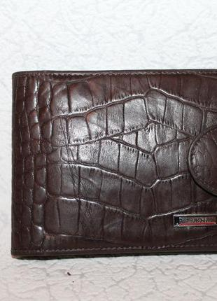 Кожаный кошелек портмоне karya натуральная кожа