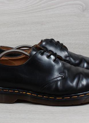 Мужские кожаные туфли dr. martens 1461 оригинал англия, размер 45