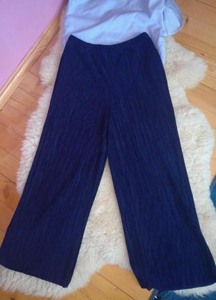 Велюрові кюлоти кюлоты / плиссерованные брюки
