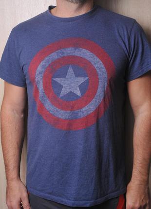 Футболка marvel comics капитан америка