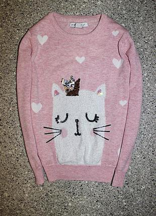 Джемпер свитерок реглан одежда девочка 4-5 лет