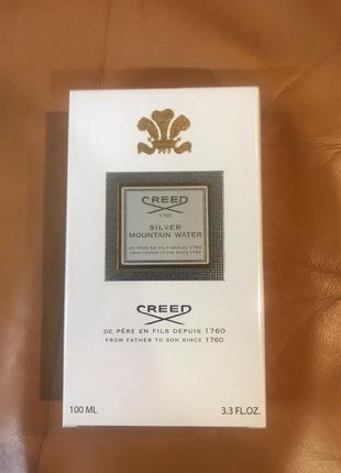Нишевый парфюм  Оригинал Creed Silver Mountain Water