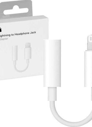 Переходник Apple Jack Lightning to 3.5mm (original)