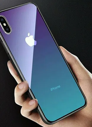 Чехол градиентного стекла для айфон 6/7/8,6,7,8plus,X/XS,XR,XSmax
