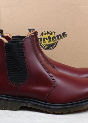 Мужские кожаные ботинки dr. martens chelsea оригинал, размер 4...