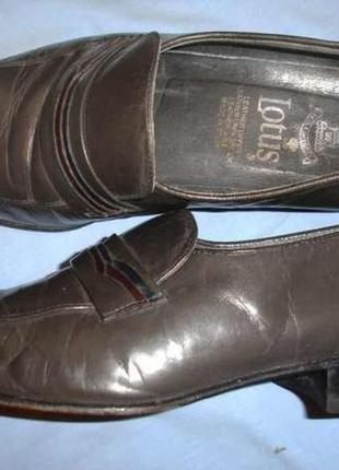 Туфли мужские серые размер 6 стелька 25.5 см испания кожа кожа...