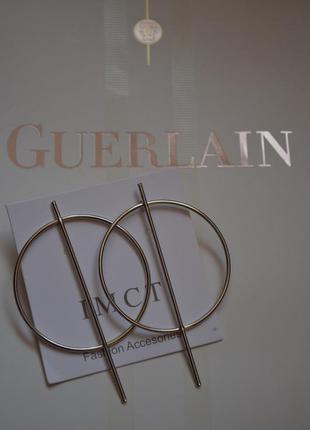 Новые серьги кольца необычные серебро серебристые серебряные к...
